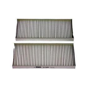 Filter, Innenraumluft Breite 1: 108mm, Breite 2: 110mm mit OEM-Nummer 27891-00Q0F
