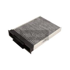 Filter, Innenraumluft Länge: 274mm, Breite: 187mm, Höhe: 40mm mit OEM-Nummer 7701064235