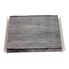 Filter, Innenraumluft Länge: 210mm, Breite: 241mm, Höhe: 32mm mit OEM-Nummer 1808 527
