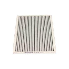 Filter, Innenraumluft Länge: 268mm, Breite: 220mm, Höhe: 21mm mit OEM-Nummer 18 08 012