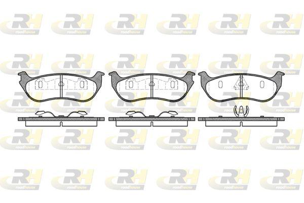 ROADHOUSE  2628.75 Bremsbelagsatz, Scheibenbremse Höhe: 49,3mm, Dicke/Stärke: 14,6mm