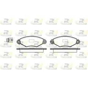 Bremsbelagsatz, Scheibenbremse Höhe: 47,4mm, Dicke/Stärke: 18mm mit OEM-Nummer 1720-82