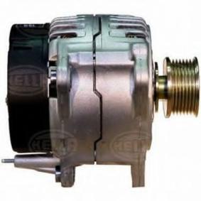 Lichtmaschine Rippenanzahl: 7 mit OEM-Nummer A 0101542102