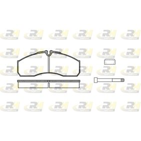 Bremsbelagsatz, Scheibenbremse Höhe: 67,9mm, Dicke/Stärke: 20,2mm mit OEM-Nummer 41060-9X129