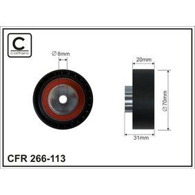 Паразитна / водеща ролка, пистов ремък 266-113 25 Хечбек (RF) 2.0 iDT Г.П. 2005