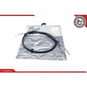 Cable, parking brake 26SKV304 PANDA (169) 1.2 MY 2008