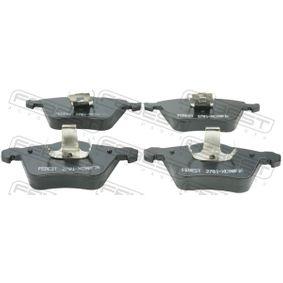 Bremsbelagsatz, Scheibenbremse Breite: 156,3mm, Höhe: 71,5mm, Dicke/Stärke: 17,1mm mit OEM-Nummer 3076912-2