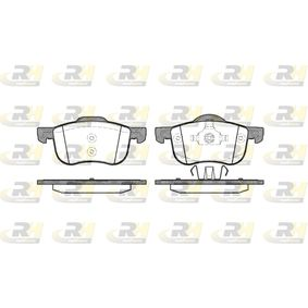 Brake Pad Set, disc brake Height 1: 69mm, Height 2: 72,5mm, Thickness: 18,5mm with OEM Number 3126250-6