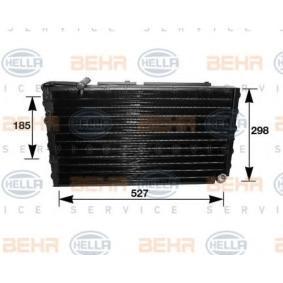 HELLA Kondensator, Klimaanlage 8FC 351 036-211 für AUDI 100 (44, 44Q, C3) 1.8 ab Baujahr 02.1986, 88 PS