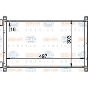 Kondensator, Klimaanlage mit OEM-Nummer 46 788 052