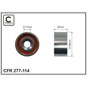 Deflection / Guide Pulley, timing belt with OEM Number 24810-27-200