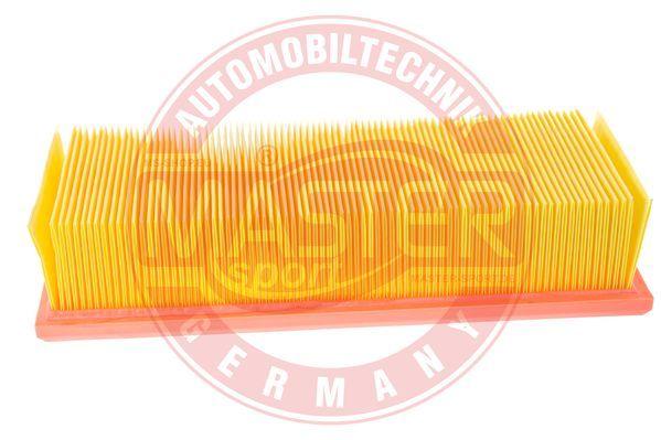 MASTER-SPORT  2774/1-LF-PCS-MS Luftfilter Länge: 268mm, Breite: 108mm, Höhe: 65mm
