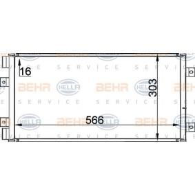 HELLA  8FC 351 300-741 Kondensator, Klimaanlage