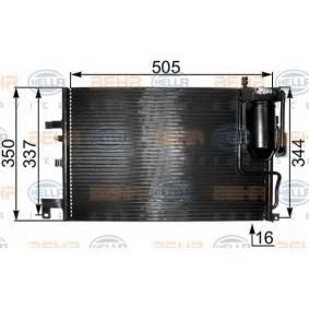 HELLA  8FC 351 300-791 Kondensator, Klimaanlage