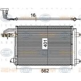 Kondensator, Klimaanlage mit OEM-Nummer 1K0.820.411 AC