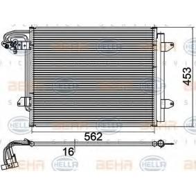 HELLA  8FC 351 301-051 Kondensator, Klimaanlage