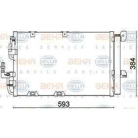 HELLA  8FC 351 301-224 Kondensator, Klimaanlage