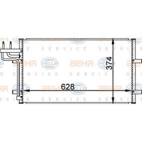 Kondensator, Klimaanlage mit OEM-Nummer 1 335 552