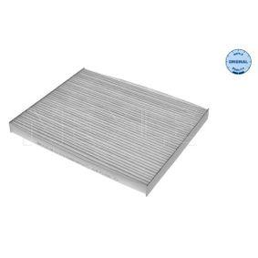 Filter, Innenraumluft Länge: 192mm, Breite: 238mm, Höhe: 20mm mit OEM-Nummer 9999Z07026