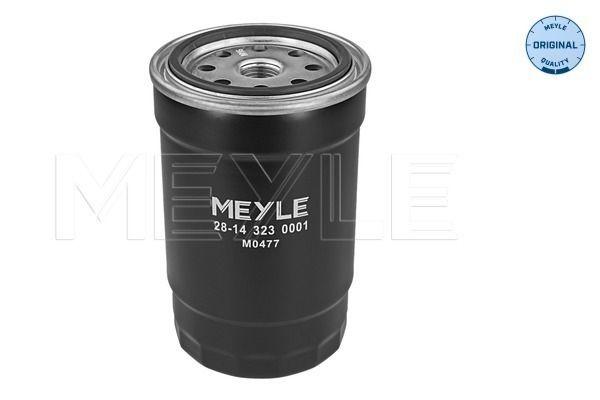 Inline fuel filter 28-14 323 0001 MEYLE MFF0114 original quality