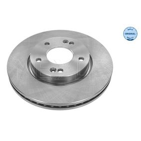 Brake Disc Brake Disc Thickness: 26mm, Num. of holes: 5, Ø: 280mm with OEM Number 51712 1H000