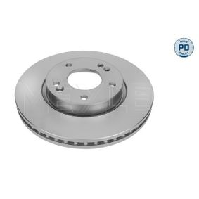 Brake Disc Brake Disc Thickness: 26mm, Num. of holes: 5, Ø: 280mm with OEM Number 51712-1H000