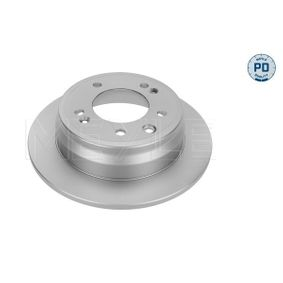 Brake Disc Brake Disc Thickness: 10mm, Num. of holes: 5, Ø: 262mm with OEM Number 584111H300