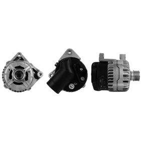 Lichtmaschine Rippenanzahl: 6 mit OEM-Nummer 12 31 1 738 351