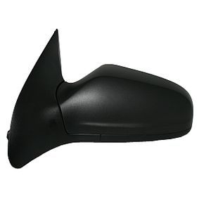 ABAKUS Side view mirror Left, Electric, Aspherical, Electronically foldable, Heated, Primed