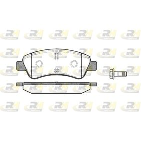 ROADHOUSE  2840.10 Brake Pad Set, disc brake Height: 51mm, Thickness: 18,8mm