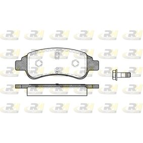 Brake Pad Set, disc brake Height: 50,8mm, Thickness: 18,8mm with OEM Number 4252-40