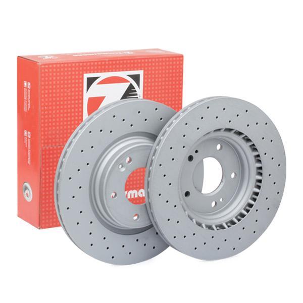 Bremsscheiben 285.3531.52 ZIMMERMANN 285.3531.52 in Original Qualität