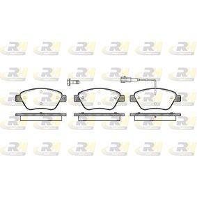 Bremsbelagsatz, Scheibenbremse Höhe: 53,3mm, Dicke/Stärke: 17,8mm mit OEM-Nummer 77362091
