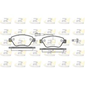 Bremsbelagsatz, Scheibenbremse Höhe: 53,3mm, Dicke/Stärke: 17mm mit OEM-Nummer 77364874