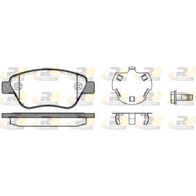 ROADHOUSE  2858.30 Bremsbelagsatz, Scheibenbremse Höhe: 53,30mm, Dicke/Stärke: 17,80mm