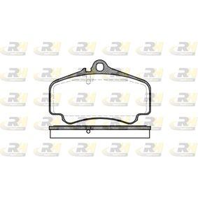 Bremsbelagsatz, Scheibenbremse Höhe: 88,5mm, Dicke/Stärke: 17mm mit OEM-Nummer 99635194912