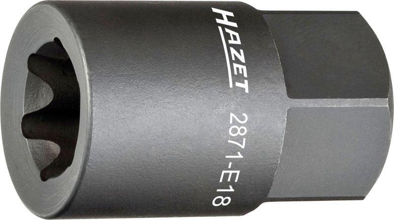 HAZET  2871-E18 Zestaw kluczy nasadowych