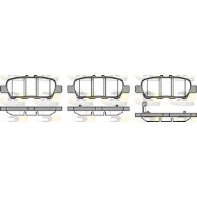 2011 Nissan Juke f15 1.6 DIG-T 4x4 Brake Pad Set, disc brake 2876.31