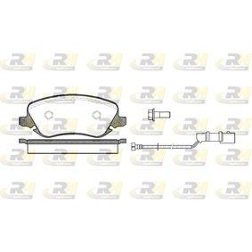 Bremsbelagsatz, Scheibenbremse Höhe: 59,6mm, Dicke/Stärke: 19mm mit OEM-Nummer 7 736 227 2