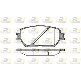 Bremsbelagsatz, Scheibenbremse Höhe: 58,5mm, Dicke/Stärke: 17,5mm mit OEM-Nummer 04465 33 250