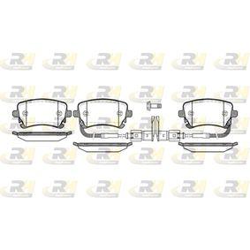 Bremsbelagsatz, Scheibenbremse Höhe: 59mm, Dicke/Stärke: 17,5mm mit OEM-Nummer 3D0.698.451