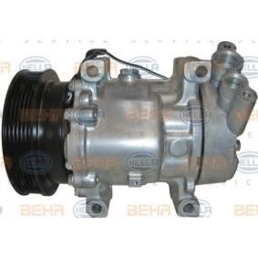 Kompressor, Klimaanlage 8FK 351 127-901 CLIO 2 (BB0/1/2, CB0/1/2) 1.5 dCi Bj 2018