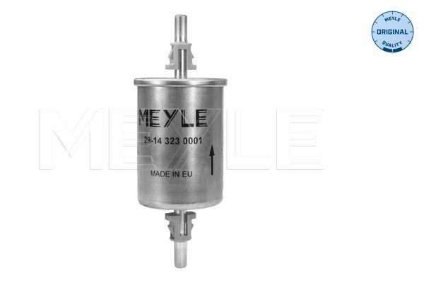 MEYLE  29-14 323 0001 Filtro combustible Altura: 163,5mm