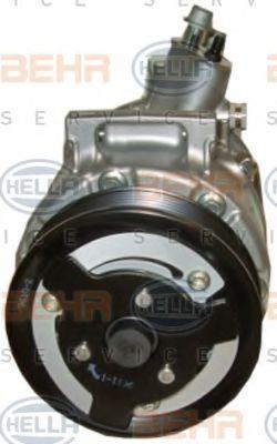 Compresor, aire acondicionado HELLA 8FK 351 316-141 evaluación