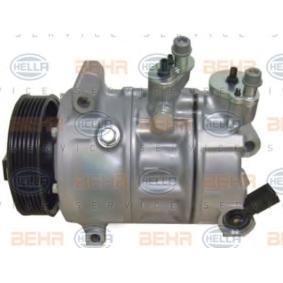 Klimakompressor Riemenscheiben-Ø: 110mm mit OEM-Nummer W01K0820859F