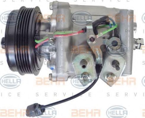 Compresor de Aire Acondicionado HELLA 8FK 351 322-441 4045621405694
