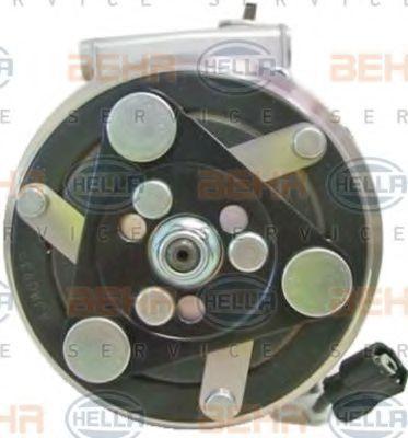Compresor, aire acondicionado HELLA 8FK 351 322-491 evaluación