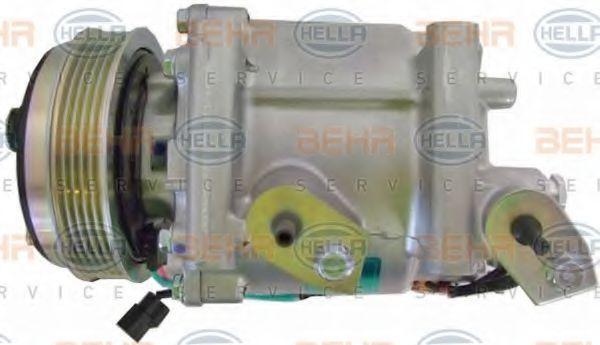 Compresor de Aire Acondicionado HELLA 8FK 351 322-491 4045621423827
