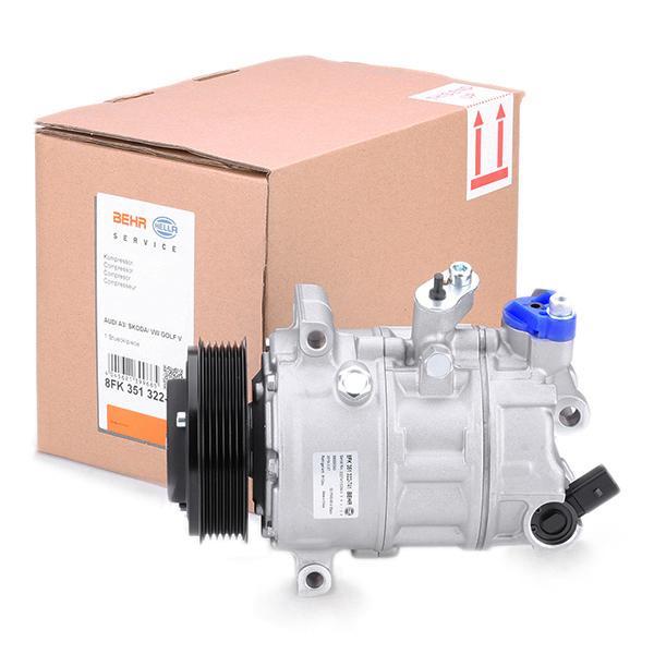 Air conditioning compressor HELLA 8FK 351 322-741 4045621399665