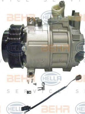 Kompressor, Klimaanlage 8FK 351 322-921 HELLA 8FK 351 322-921 in Original Qualität
